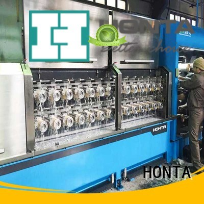 HONTA straight wire drawing machine factory for wire cable making