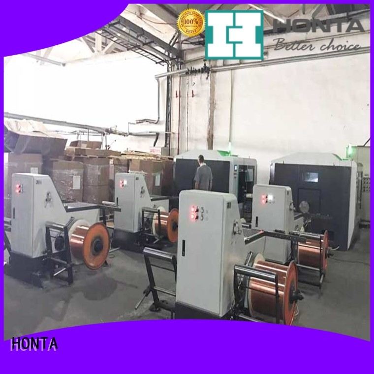HONTA Professional take up machine factory for wire cable making