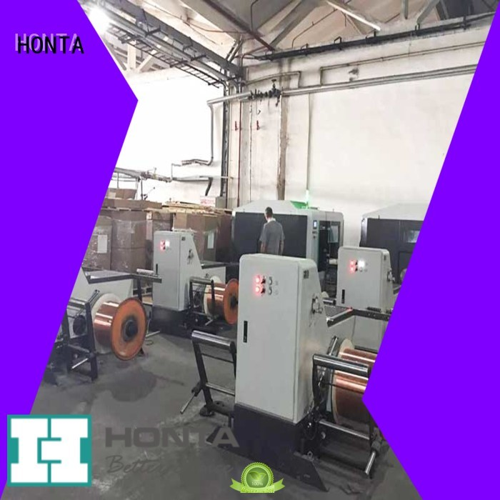 HONTA Professional take up machine supply for wire cable making