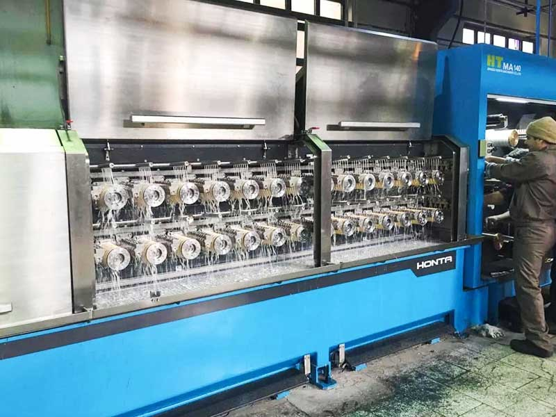 16 Head Wire Machine - Trial Machine In Iran | Honta