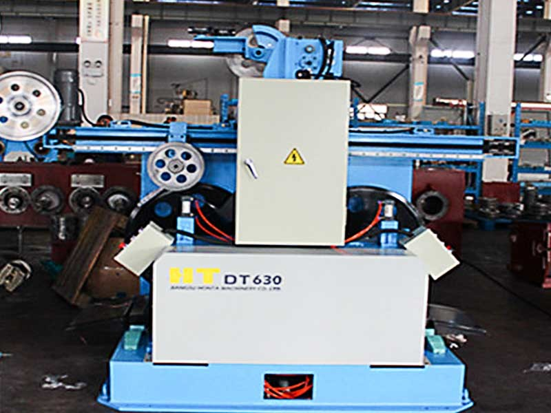 The Line In Double Disk Stranding Machine
