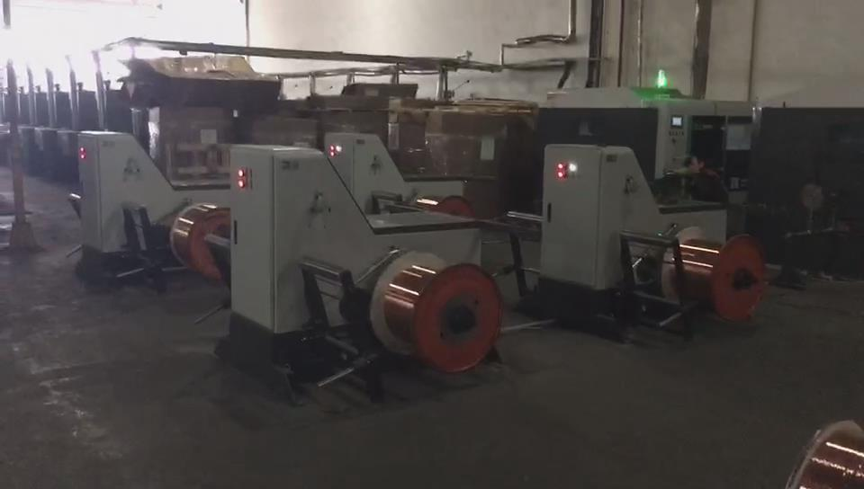 High Speed Wire Strander Wire Twisting Machine