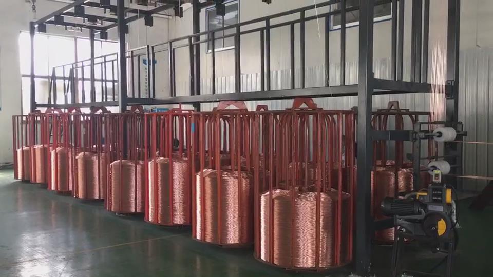 16 Head Copper Copper Wire Machine