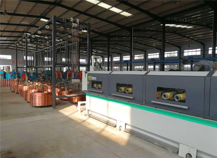 14 wires Multiwire Drawing machine