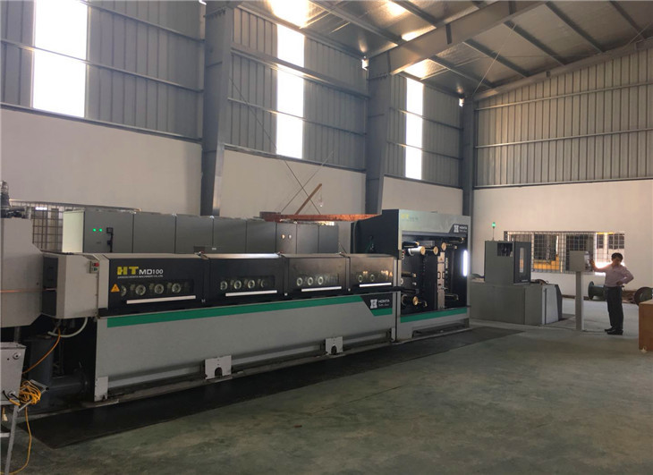 8 Head Drawing Production Line Aluminum Wire Drawing Machine HT.MD100.03.27.08