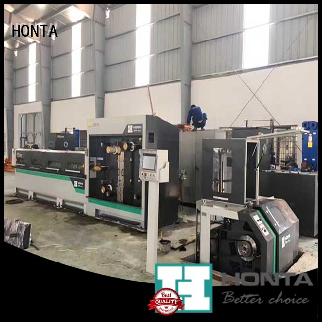 HONTA copper wire drawing machine price factory for wire production line