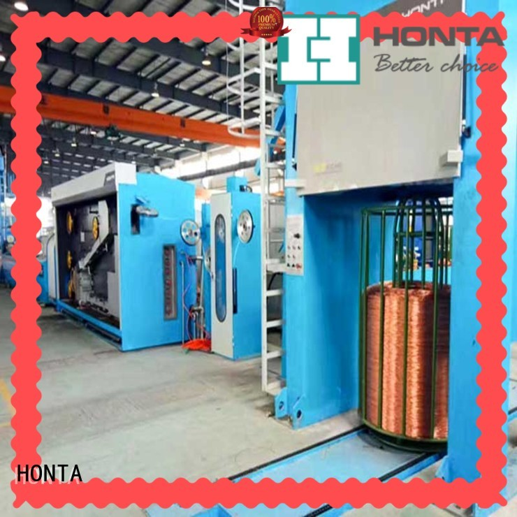 HONTA wet wire drawing machine supply for wire production line