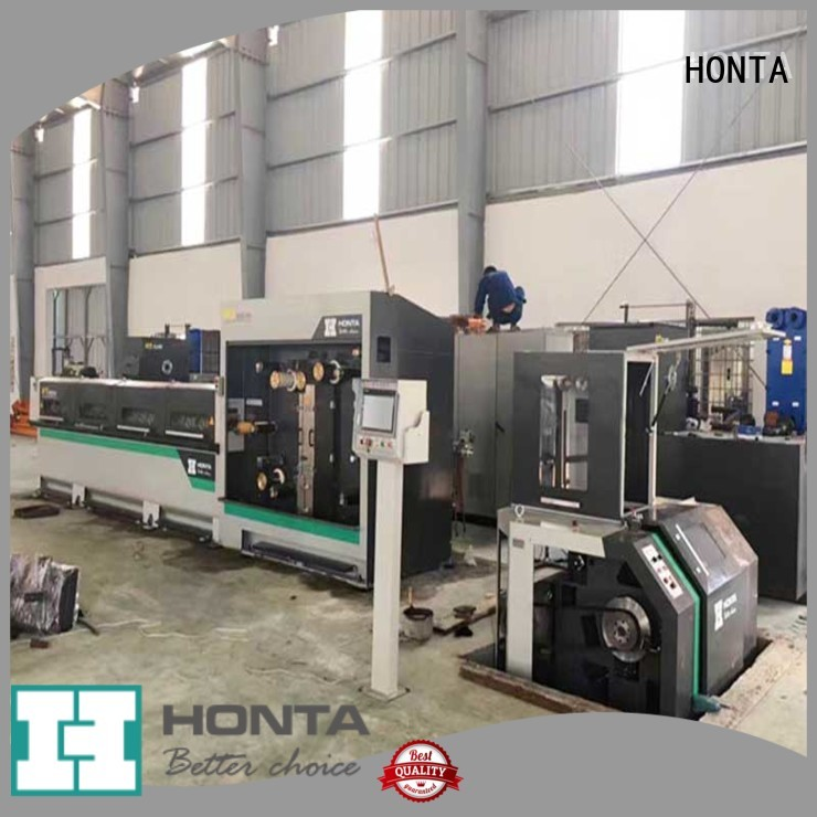 HONTA wire drawing machinery suppliers for wire cable making