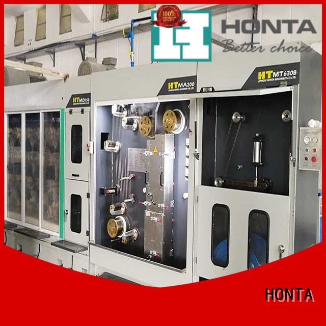 HONTA High-quality drawing machine company for wire manufacturing
