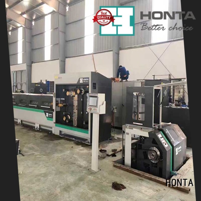 HONTA wire machine manufacturer for wire cable making