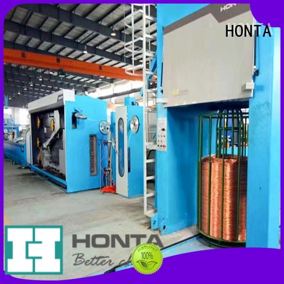 HONTA steel wire drawing machine factory for wire production line