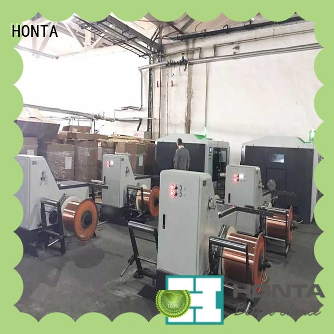 HONTA Best wire take up machine factory for cable production