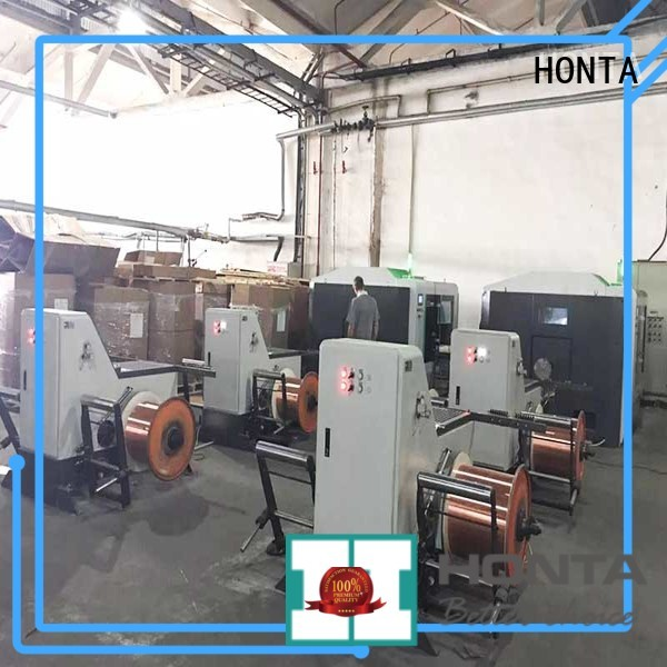 HONTA Professional take up machine manufacturer for wire manufacturing