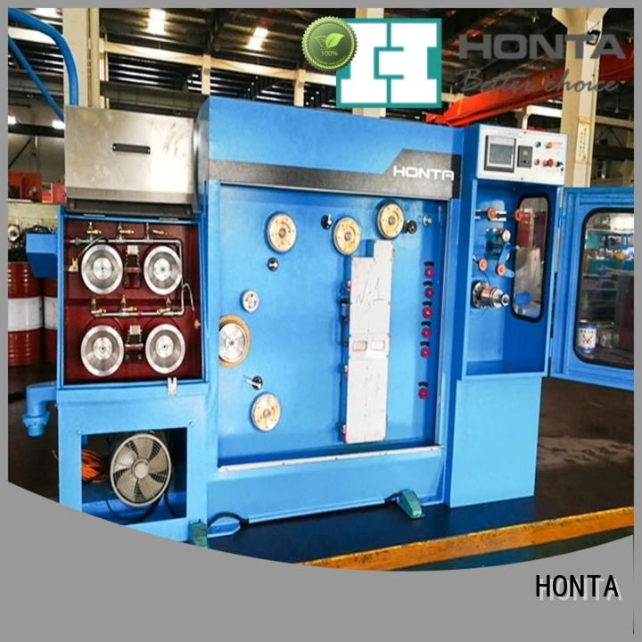 HONTA wire drawing machine manufacturer company for wire production
