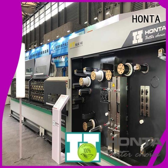 HONTA bull block wire drawing machine factory for wire manufacturing