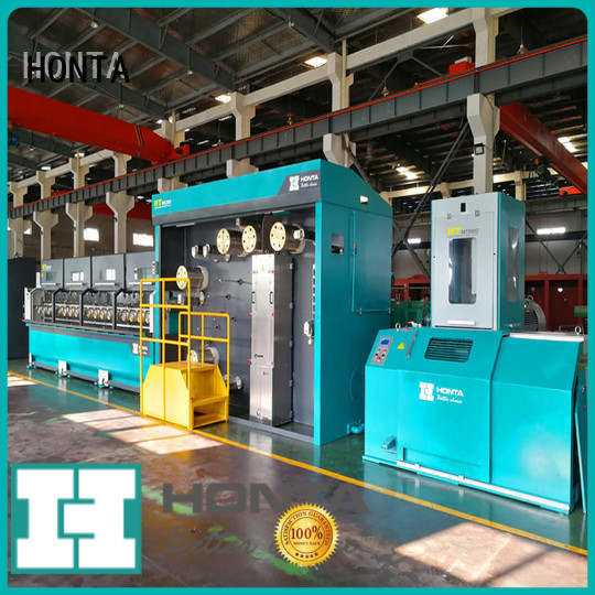 HONTA Best wire drawing machine supply for wire cable making