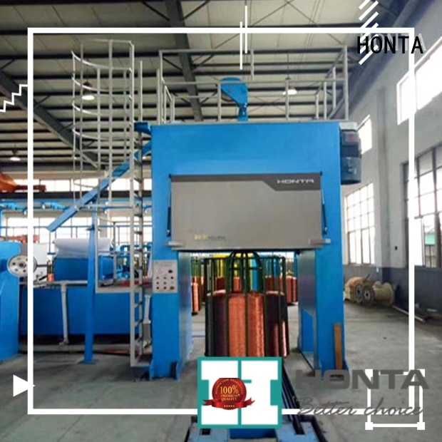 HONTA High Performance copper wire machine cable manufacturing equipment supply for wire cable making