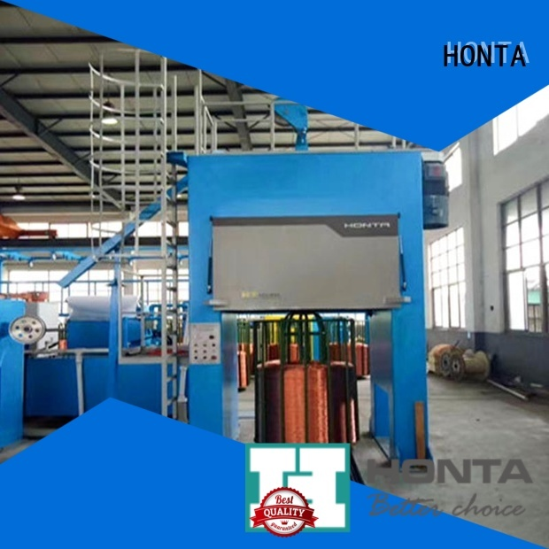HONTA High Grade double twist bunching machine suppliers for bunching the wire