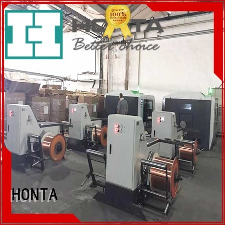 HONTA wire payoff machine supply for cable production