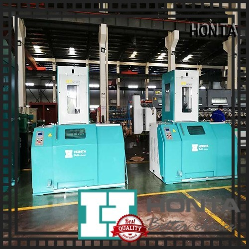 HONTA stainless steel wire drawing machine company for wire production line