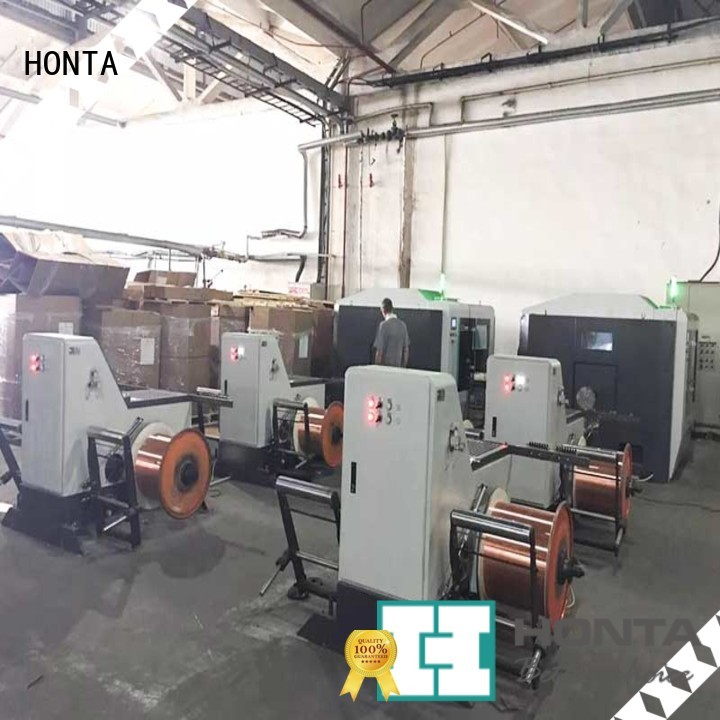 HONTA Best wire spooler manufacturer for wire cable making