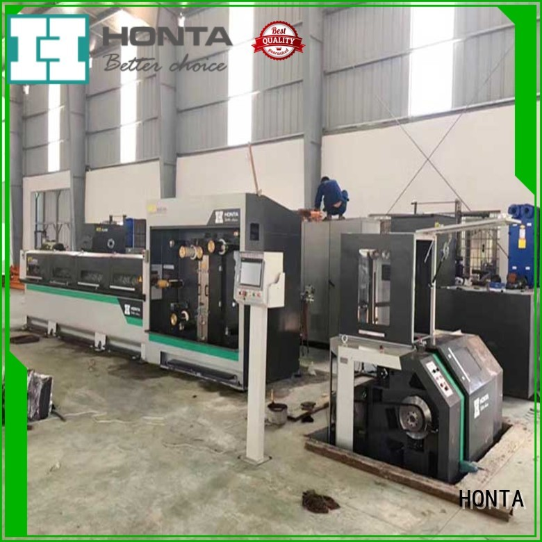 HONTA drawing machine wire supply for wire production line