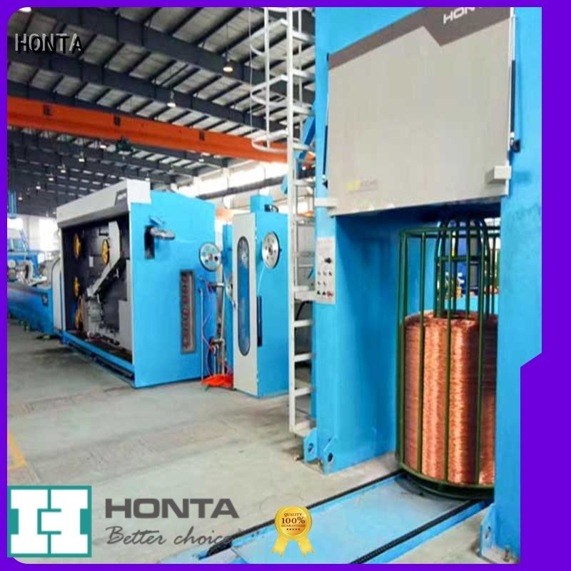 HONTA Excellent quality vertical wire drawing machine manufacturer for wire cable making