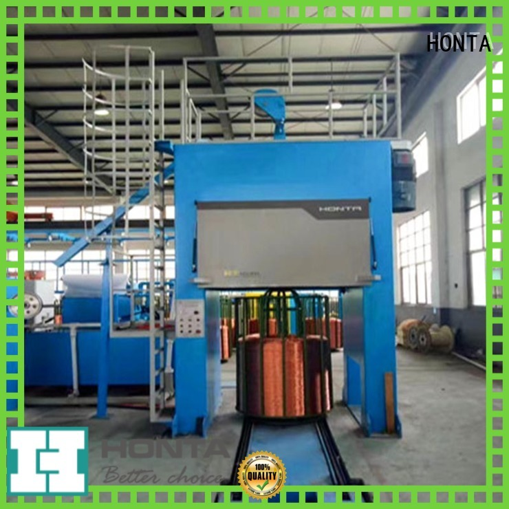 HONTA Durable cable twisting machine suppliers for wire stranding