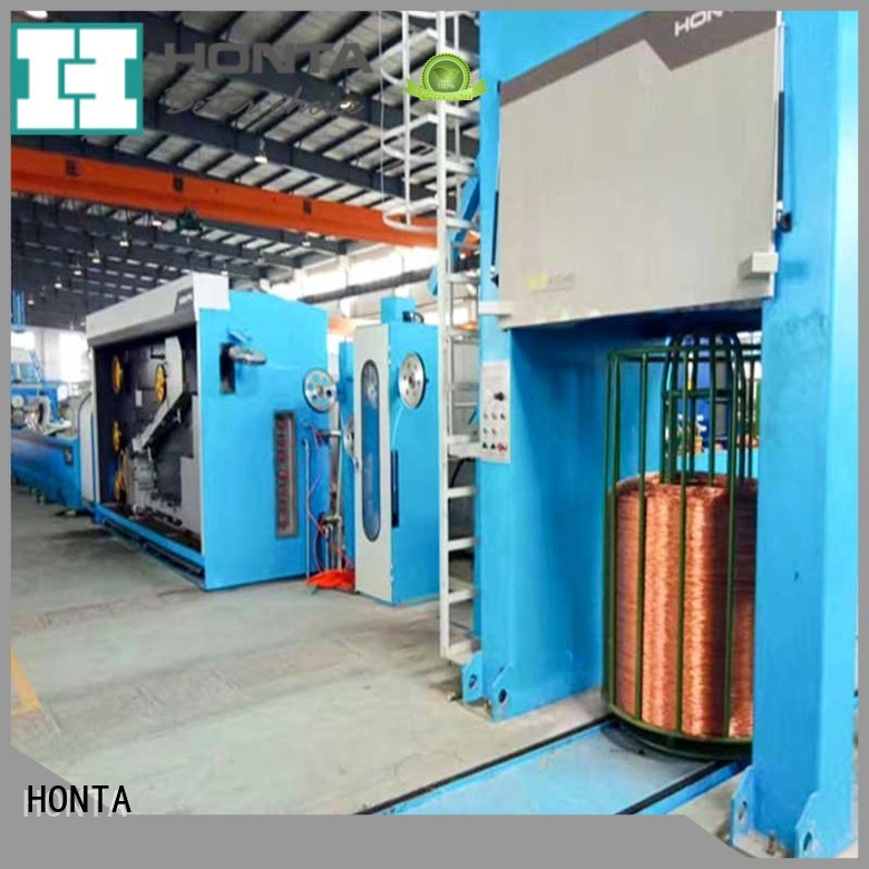 HONTA vertical wire drawing machine manufacturer for wire cable making