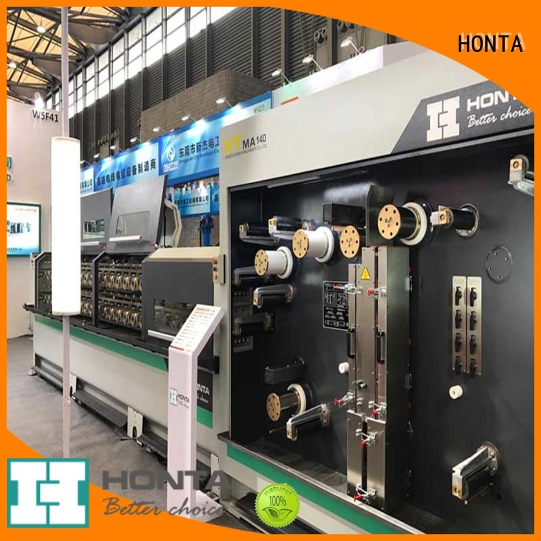 HONTA Top drawing machine company for wire production line
