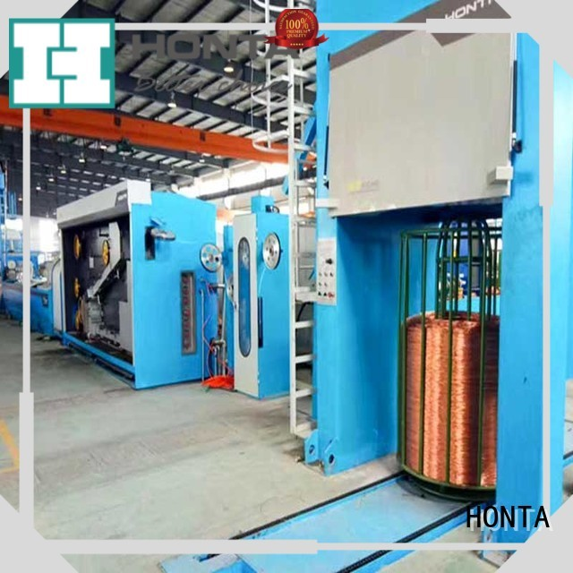 HONTA High-quality multi wire drawing machine manufacturers supply for wire cable making