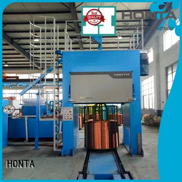 HONTA cable production machinery factory for bunching the wire