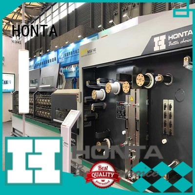 HONTA wire drawing machine cost factory for wire cable making