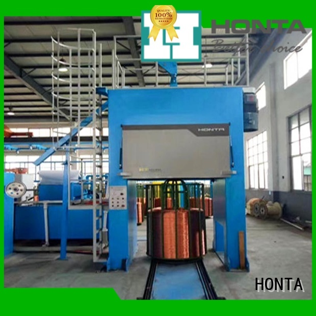 HONTA winding wire making machine manufacturer for bunching the wire