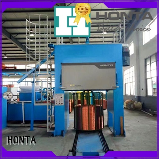 HONTA cable bunching machine factory for wire manufacturing