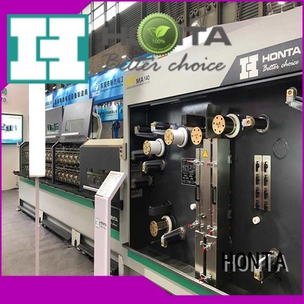 HONTA wire drawing machine manufacturer factory for wire cable making