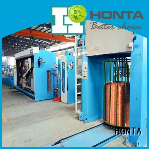HONTA Top zinc wire drawing machine factory for wire production line