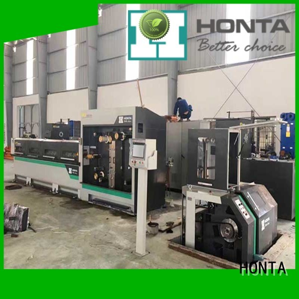 HONTA Excellent quality copper wire drawing machine suppliers for wire production line